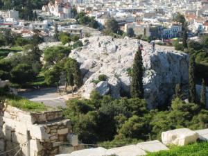 Mars Hill where Paul preached