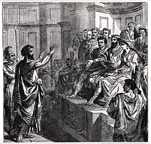 Paul, Festus, Agrippa