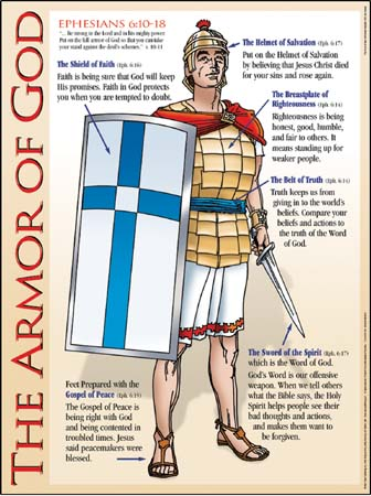 armor of god picture. God#39;s armor is not defensive,