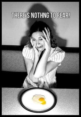 egg fear