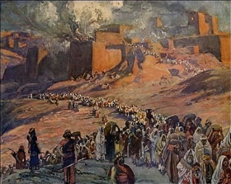 The Fall of Jerusalem at the hands of Nebuchadnezzar
